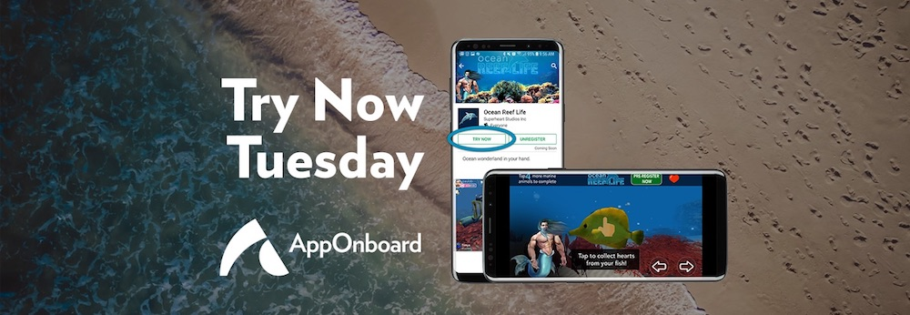 Try Now Tuesday: Ocean Reef Life Drives Over 10K Daily Pre-Registrations on Google Play