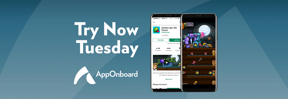 Try Now Tuesday: Fumb Games Leverages AppOnboard's Instant App Creation Platform to Quickly Optimize Google Play Instant Apps